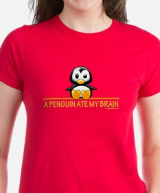 A Penguin Ate My Brain Tee