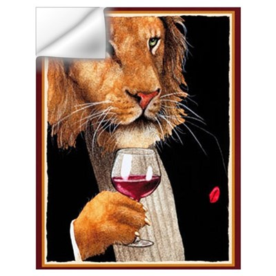 Wine King Wall Decal