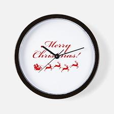 Merry Christmas ! Wall Clock