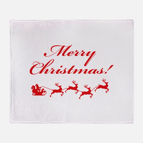 Merry Christmas ! Throw Blanket