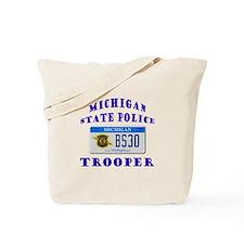 Michigan State Police Tote Bag