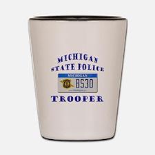 Michigan State Police Shot Glass