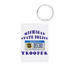 Michigan State Police Keychains