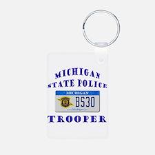 Michigan State Police Keychains
