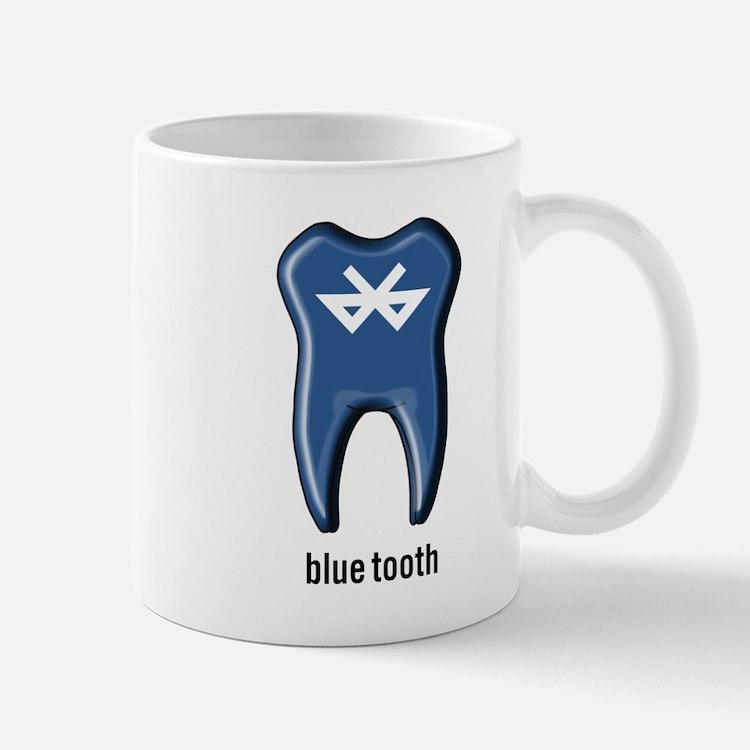 blue tooth bluetooth Mug
