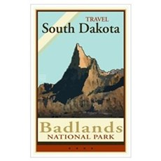 Travel South Dakota Poster