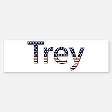 Trey Stars and Stripes Bumper Bumper Bumper Sticker