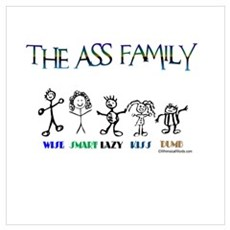 THE ASS FAMILY Poster