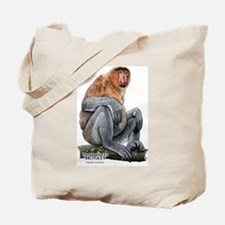 Proboscis Monkey Tote Bag
