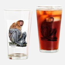 Proboscis Monkey Drinking Glass