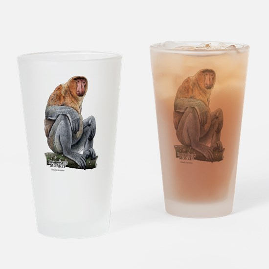 Proboscis Monkey Drinking Glass
