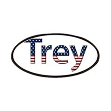 Trey Stars and Stripes Patch