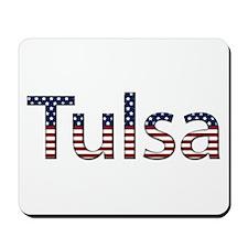 Tulsa Stars and Stripes Mousepad