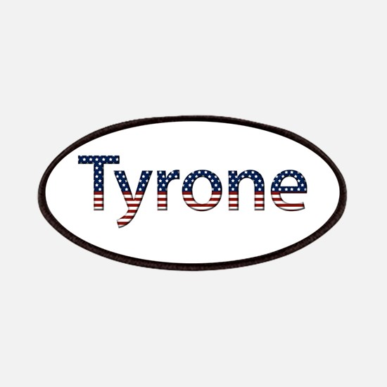 Tyrone Stars and Stripes Patch