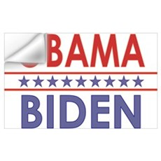Obama-Biden Wall Decal