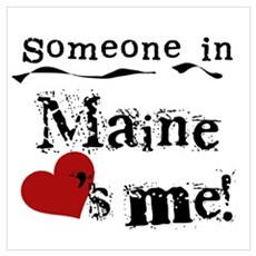 Someone in Maine Poster