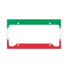 Funny Iran License Plate Holder