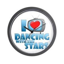I Heart Dancing with the Stars Wall Clock