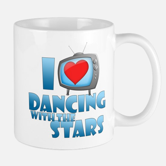 I Heart Dancing with the Stars Mug