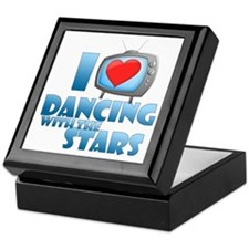 I Heart Dancing with the Stars Keepsake Box