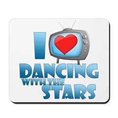 I Heart Dancing with the Star Mousepad