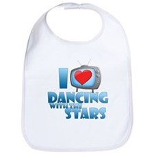 I Heart Dancing with the Stars Bib
