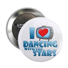 "I Heart Dancing with the Stars 2.25"" Button"