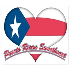 Puerto Rican Sweetheart Framed Print