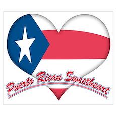Puerto Rican Sweetheart Poster