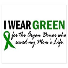 I Wear Green 2 (Mom's Life) Poster