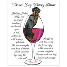 Weiner Winery Shiraz Framed Print
