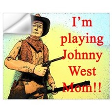 Playing Johnny West Wall Decal