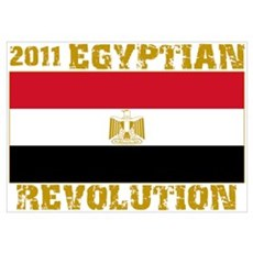 2011 Egyptian Revolution Poster