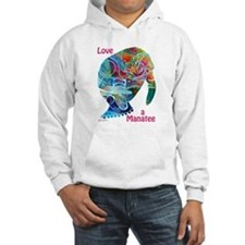 Manatees of Many Colors Hoodie