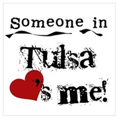 Tulsa Loves Me Poster