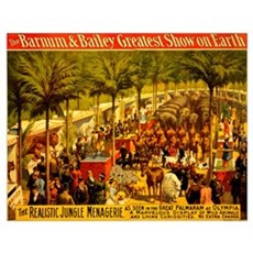 Barnum & Bailey (A) Poster