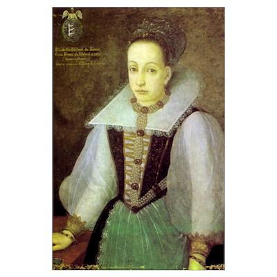 Blood Countess Elizabeth Bathory 11x17 Print Poster