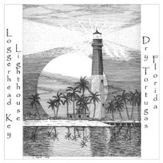 Loggerhead Key Lighthouse Poster