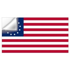 Betsy Ross Flag Wall Decal
