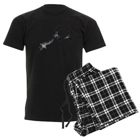 THREE BAT Men's Dark Pajamas