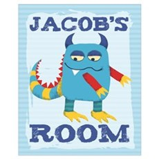 Jacob's ROOM Mallow Monster Poster