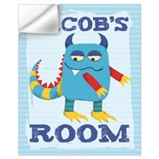 Jacob's ROOM Mallow Monster Wall Decal