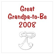Great Grandpa-to-Be 2008 Canvas Art