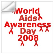 World AIDs day Wall Decal