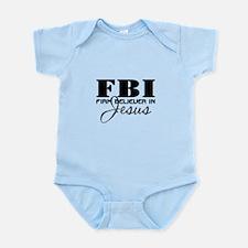 Firm Believer in Jesus Infant Bodysuit