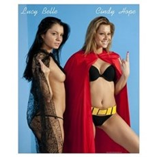 Lucy Belle and Cindy Hope sexy Poster