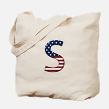 S Stars and Stripes Tote Bag