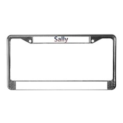 Sally Stars and Stripes License Plate Frame