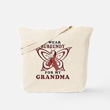 I Wear Burgundy for my Grandm Tote Bag