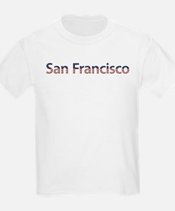 San Francisco Stars and Strip T-Shirt